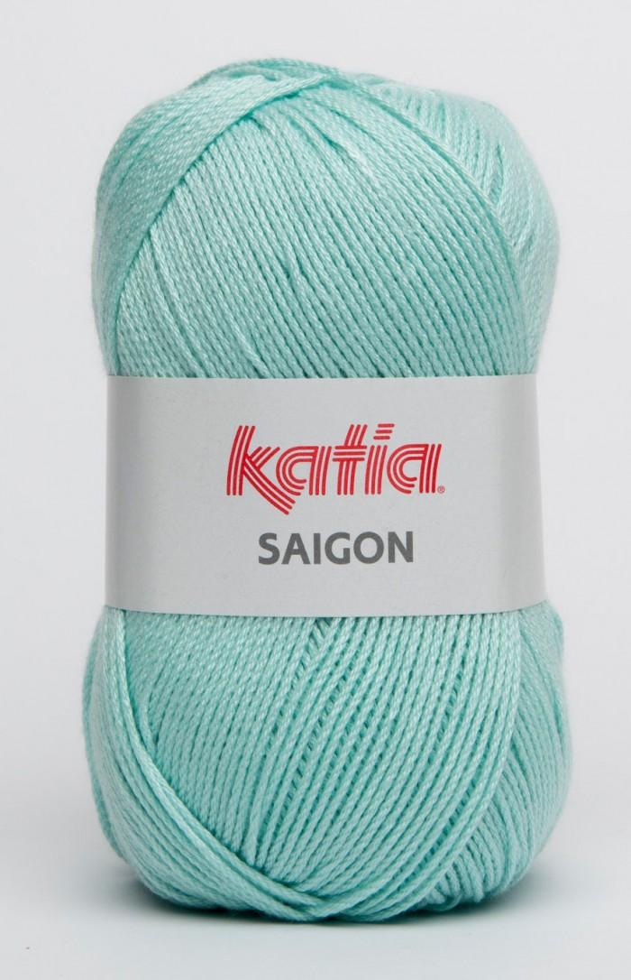Katia Saigon 14 licht zee blauw