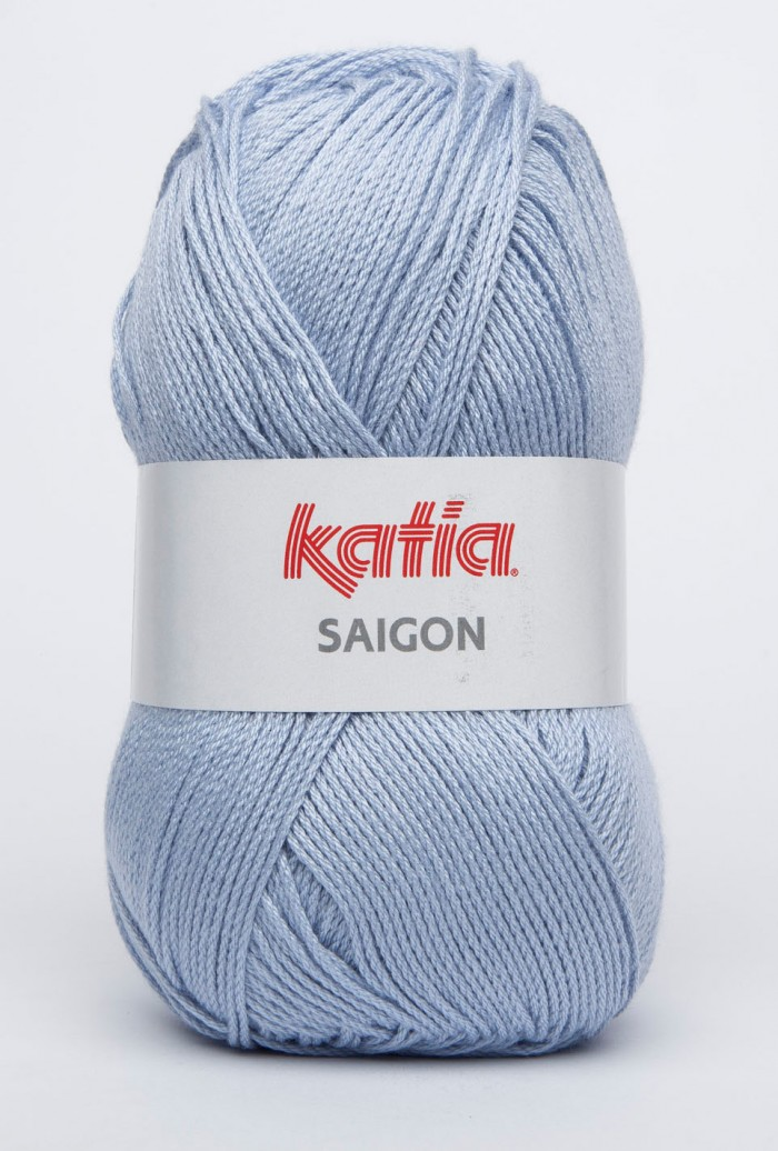 Katia Saigon 33 licht blauw