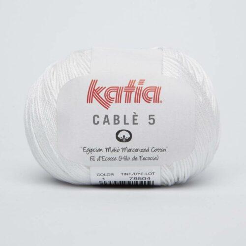 katia-cable-5-1-wit-100-egyptisch-katoengaren